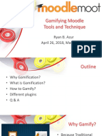 Moodle Gamification Tools and Techniques