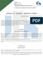 Edital 08-2018 ProcessoSeletivoMestrado