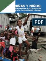 Niñas y Niños Determinantes Para La Construcción de Una Paz Estable y Duradera