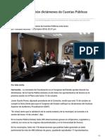 Diputados discutirán dictámenes de Cuentas Públicas este lunes