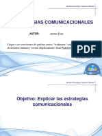 Estrategias comunicacionales