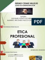 Etica Profesional Oscar Da