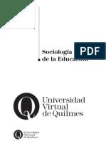 Sociología de la Educación - Emilio Tenti