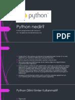 Temel Python