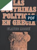 Mossé, Claude - Las Doctrinas Políticas en Grecia