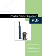 Reporte Proctor Estandar
