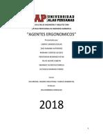 Monografia de Agentes Ergonomicos