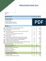 2013 Presupuesto Chepen (Autoguardado).xlsx
