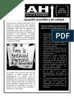 Boletín Informativo del CAH - Agosto
