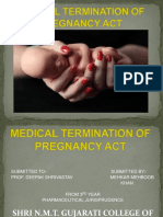 Medical Termination of Pregnancy Act