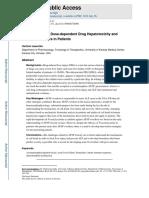 Paracetamol Toxicicidade