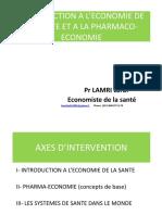 1- Introduction a L_economie de La Sante