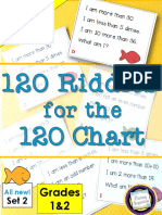 120 Riddles for 120 Chart Grades 1 and 2 SET 2 Sample