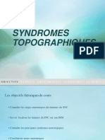 4.Syndromes Topographiques