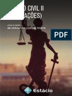 Direito civil II - Direito das Obrigações. Ana Carolina Lobo Gluck Paul Peracchi. Estácio de Sá, 2016 - 257p..pdf