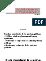 6) Diseño Políticas Públicas