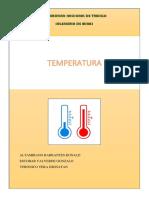 Temperatura Fisica II