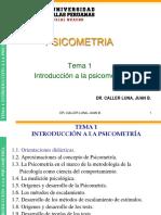 tema1-INTRODUCCION-PSICOMETRIA