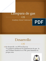 Lámpara de Gas