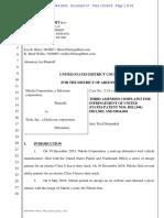 Nikola v. Tesla - Third Amended Complaint