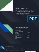 Plan Tecnico de Numeracion Fundamental