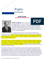 American Civil Rights Initiative (ACRI) People