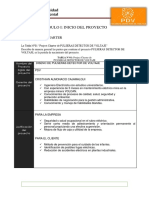 Project Charter Pdv