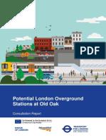 Old Oak Common London Overground Consultation Report 2017