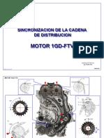 Sincronización de La Cadena de Distribución - Motor 1GD