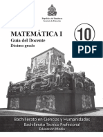 Mat I - Guía Del Docente - Completo