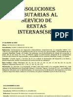 Absoluciones Tributarias Al Servicio de Rentas Internas( (1)