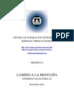 Leal Rolando - Camino a La Montaña - Experiencias Esotericas