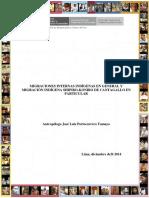 Población Indígena en El Perú