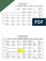 Autumn Semester Time Table 2017-18 Batch Vise