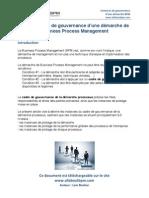 Instances de gouvernance d'une démarche processus www.allaboutbpm.com