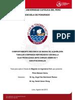 Comportamiento Mecanico Albañileria Tubular
