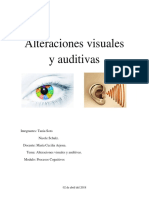 Alteraciones Visuales y Auditivas