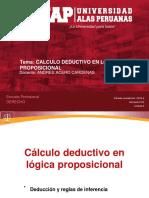 SEMANA 3 LOGICA  Y ARGUMENTACION JURIDICA-1.pdf CALCULO DEUDCTIVO EN LÓGICA PROPOSICIONAL.pdf