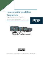 Biblia Transmedia -Eduardo Pradanos - REVISADA Y SUBRAYADA