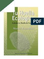 Tu Huella Ecol Gica Edici n 2018 2
