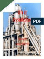 3. OTK3 - Crystallization