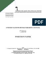 Position Paper HRC4-2
