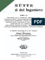 Manual Del Ingeniero Hutte-Tomo IV