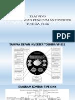 Training Inverter Toshiba