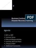 CISSP - 9 Buisiness Continuity & Disaster Recovery Planning.ppt