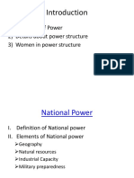 Women Power and Structure in International Relation