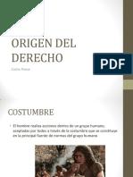 Origen Del Derecho (2)