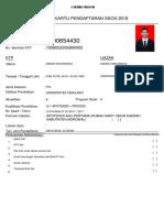 Kartu pendaftaran