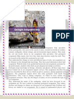 Geologist Assignment Help.docx