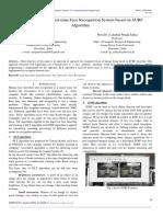 Implementation of Real-time Face Recognition System based on SURF Algorithm